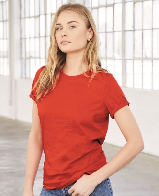 BELLA 6400 Womens Relaxed Jersey Tee Catalog