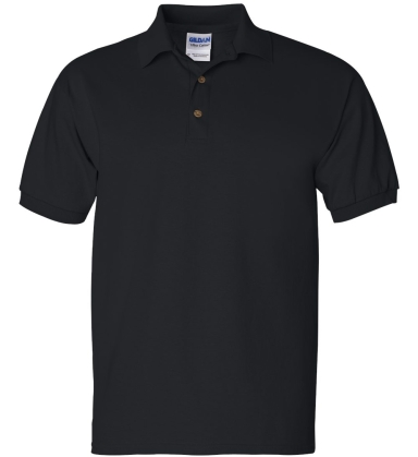 2800 Gildan 6.1 oz. Ultra Cotton® Jersey Polo BLACK