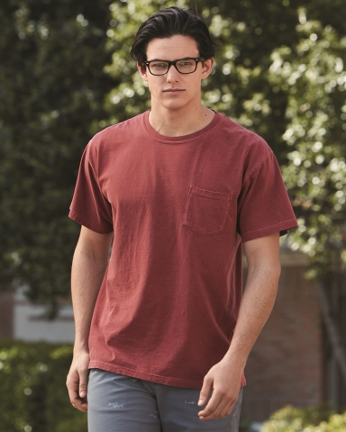 6030 Comfort Colors - Pigment-Dyed Short Sleeve Shirt with a Pocket Catalog