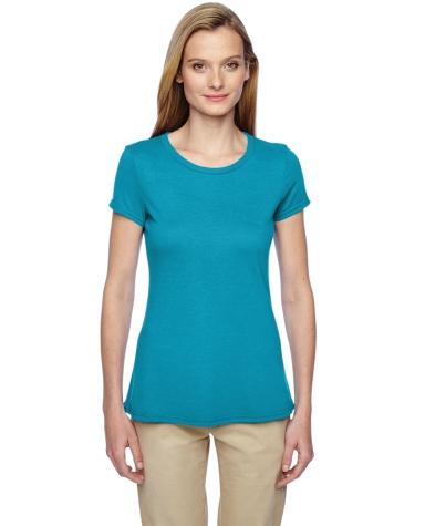 Jerzees 21WR Dri-Power Sport Women's Short Sleeve T-Shirt California Blue