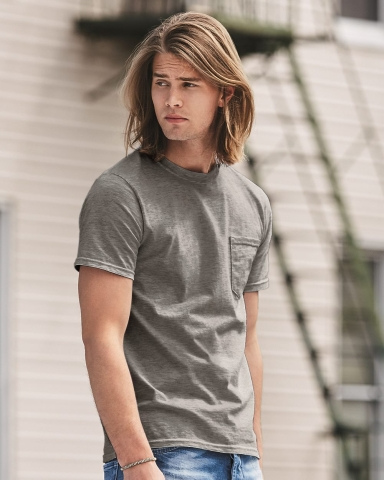 783 Anvil Adult Midweight Cotton Pocket Tee Catalog