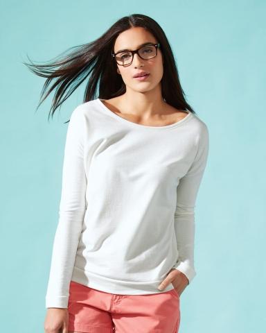 Next Level 6931 Ladies' Terry Long Sleeve Scoopneck T-Shirt Catalog
