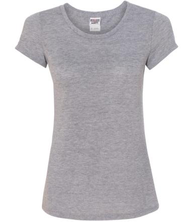 Jerzees 21WR Dri-Power Sport Women's Short Sleeve T-Shirt Athletic Heather