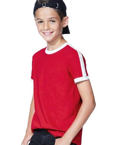 LA T 6132 Youth Soccer Ringer Tee Catalog
