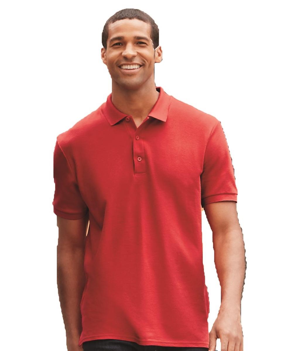 FOREST GREEN Gildan Premium Cotton 6.5 oz 3XL Double Piqu/é Sport Shirt