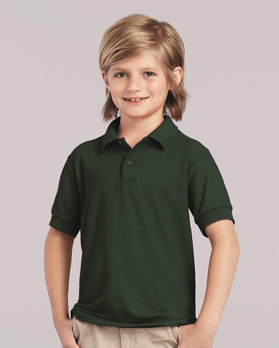 75dd2369f64 72800B Gildan DryBlend® Youth Double Piqué Polo