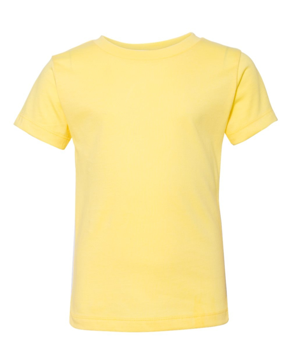 ecede57ba ... Bella + Canvas 3001T Toddler Tee YELLOW ...