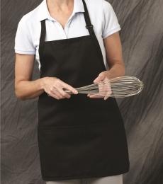 Chef Designs 1530 Short Premium Bib Apron