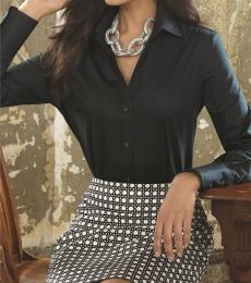 Calvin Klein 13CK028 Women's Pure Finish Cotton Shirt