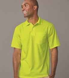 436 Jerzees Adult Jersey 50/50 Pocket Polo with SpotShield®