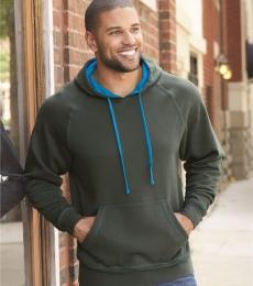 8883 J. America - Shadow Fleece Hooded Pullover Sweatshirt
