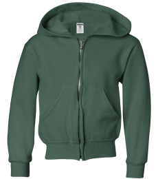 993B Jerzees Youth 8 oz. NuBlend® 50/50 Full-Zip Hood