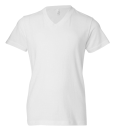 BELLA+CANVAS 3005Y Youth V-Neck T-Shirt