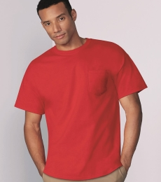 Gildan 5300 Heavy Cotton T-Shirt with a Pocket