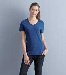 Jerzees 601WVR Women's Tri-Blend V-Neck Short Sleeve T-Shirt