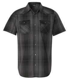 Burnside 9206 Short Sleeve Western Shirt