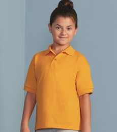 8800B Gildan Youth 5.6 oz. Ultra Blend® 50/50 Jersey Polo