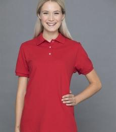 Jerzees 443W Women's Easy Care Double Mesh Ringspun Pique Sport Shirt