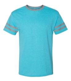 Jerzees 602MR Triblend Ringer Varsity T-Shirt