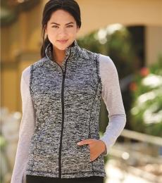 J America 8625 Cosmic Fleece Women's Vest