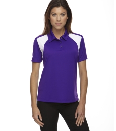 75066 Ash City - Extreme Eperformance™ Ladies' Colorblock Textured Polo