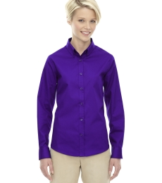 78193 Core 365 Ladies' Operate Long-Sleeve Twill Shirt