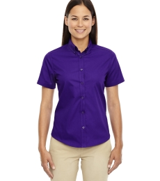78194 Ash City - Core 365 Ladies' Optimum Short-Sleeve Twill Shirt