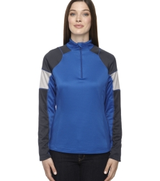 North End 78214 Ladies' Quick Performance Interlock Quarter-Zip