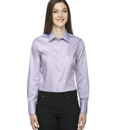78673 North End Sport Blue Boulevard Ladies' Wrinkle-Free 2-Ply 80's Cotton Dobby Shirt