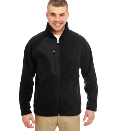 8495 UltraClub® Adult Full-Zip Polyester Micro-Fleece Jacket With Pocket