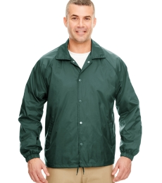 8944 UltraClub® Adult Nylon Coaches Jacket