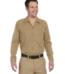 LL535 Dickies Men's Long-Sleeve Industrial Poplin Work Shirt