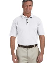 Harriton M200T Men's Tall 6 oz. Ringspun Cotton Piqué Short-Sleeve Polo