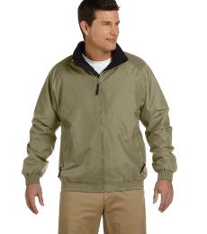 Harriton M740 Adult Fleece-Lined Nylon Jacket