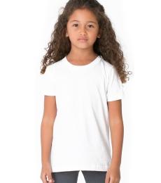 American Apparel BB101W Toddler Poly-Cotton Short-Sleeve Crewneck
