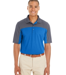 CE101 Ash City - Core 365 Men's Balance Colorblock Performance Piqué Polo