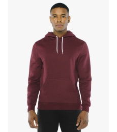 American Apparel MT498W Unisex Salt And Pepper Pullover Hooded Sweatshirt