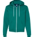 F497 American Apparel Flex Fleece Zip Hoody ULTRA BLUE