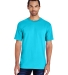 51 H000 Hammer Short Sleeve T-Shirt LAGOON BLUE
