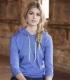 887L Anvil Ladies' Ringspun Long-Sleeve Hooded T-Shirt Catalog