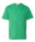 990B Anvil Combed Ring Spun Cotton Fashion Youth T-Shirt  HEATHER GREEN