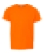 990B Anvil Combed Ring Spun Cotton Fashion Youth T-Shirt  NEON ORANGE