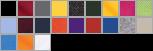 82800 swatch palette