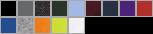 72800 swatch palette
