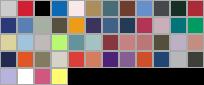 4980 swatch palette