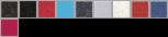8138 swatch palette