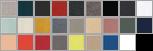 3945 swatch palette