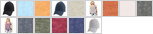AA5054 swatch palette