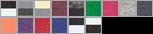 6937 swatch palette