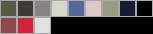 AA9575 swatch palette